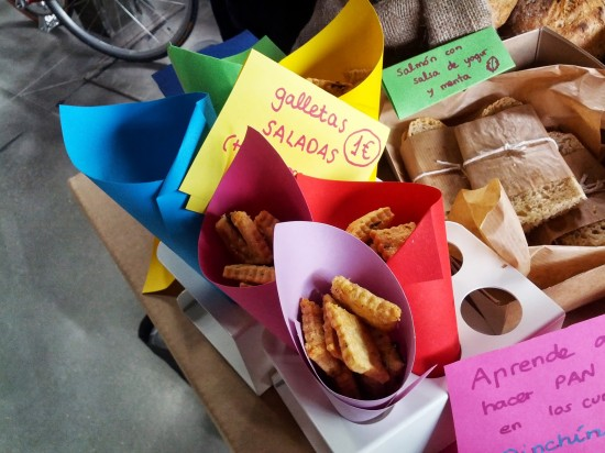 cucuruchos de galletas