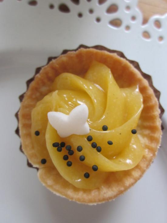 tartaleta limón