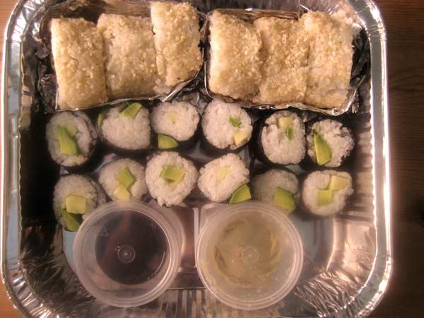 caja sushi