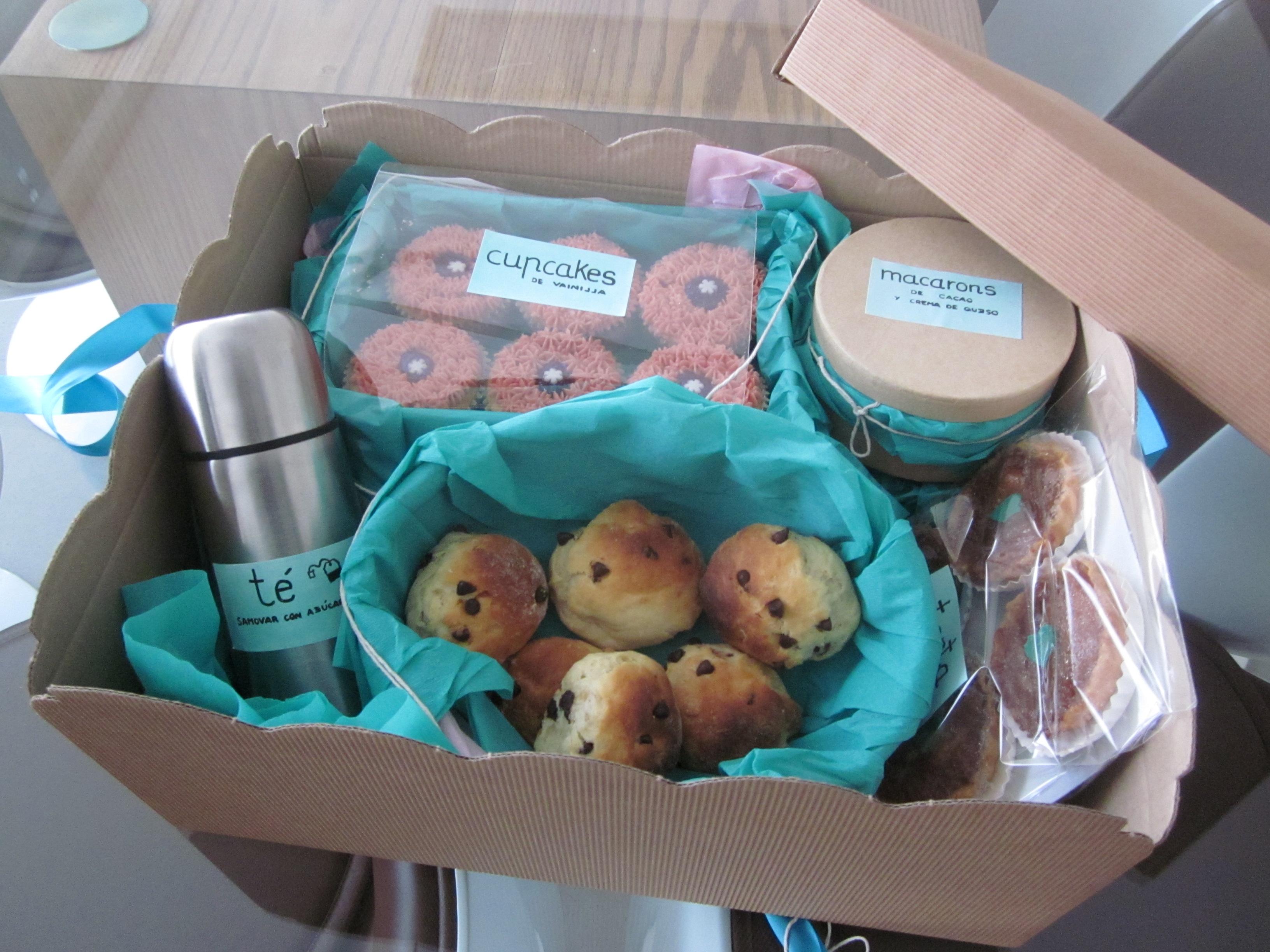 Una caja desayuno pinch n m nica iglesias - Desayuno sorpresa madrid ...