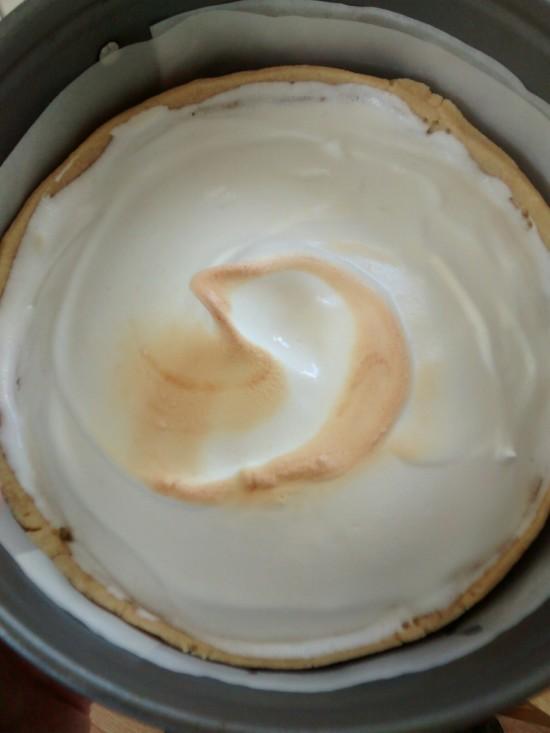 tostado del merengue